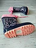 Детские резиновые сапоги для девочек Kimboo, фото 7