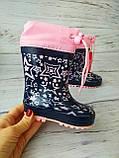 Детские резиновые сапоги для девочек Kimboo, фото 8
