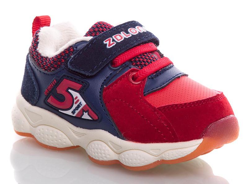 Дитячі кросівки для хлопчиків, дівчаток червоні