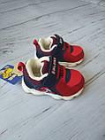 Дитячі кросівки для хлопчиків, дівчаток червоні, фото 2