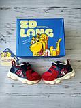 Дитячі кросівки для хлопчиків, дівчаток червоні, фото 4
