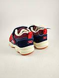 Дитячі кросівки для хлопчиків, дівчаток червоні, фото 7