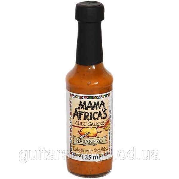 Очень острый соус Mama Africa's Habanero Sauce 125ml
