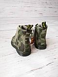 Ботинки для мальчиков Сказка, хаки, утепленные, фото 2
