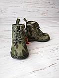 Ботинки для мальчиков Сказка, хаки, утепленные, фото 3