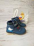 Ботинки для мальчиков Сказка 22р, 14см, фото 2