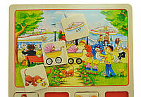 Настольная игра goki Лото Наше маленький город 56740, КОД: 2438690
