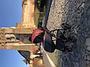 Детская коляска 2 в 1 Peppy Classik эко кожа  эко кожа оранж, фото 3