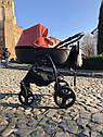 Детская коляска 2 в 1 Peppy Classik эко кожа  эко кожа оранж, фото 2