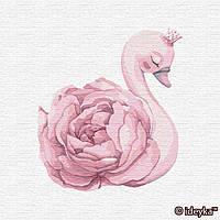 Картины по номерам Идейка 30х30 см Принцесса лебедь (КНО2358)