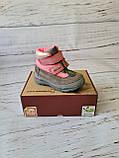 Кожаные ортопедические ботинки для девочек DD Step AQUA-TEX (Венгрия) 24р, 15см, фото 2