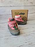 Кожаные ортопедические ботинки для девочек DD Step AQUA-TEX (Венгрия) 24р, 15см, фото 4