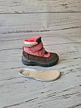 Кожаные ортопедические ботинки для девочек DD Step AQUA-TEX (Венгрия) 24р, 15см, фото 7
