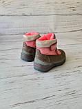 Кожаные ортопедические ботинки для девочек DD Step AQUA-TEX (Венгрия) 24р, 15см, фото 9