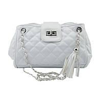 Женская сумочка через плечо W25  | белая, фото 1