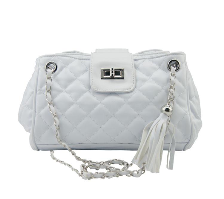 Женская сумочка через плечо W25  | белая