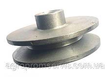 Шкив 1 ручейный диаметр 80 мм. профиль ремня  А,В, фото 3