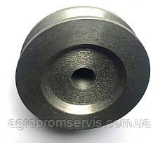 Шкив 1 ручейный диаметр 80 мм. профиль ремня  А,В, фото 2