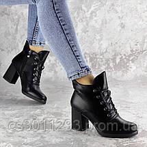 Ботильоны женские Fashion Lina 2316 37 размер 24 см Черный, фото 3