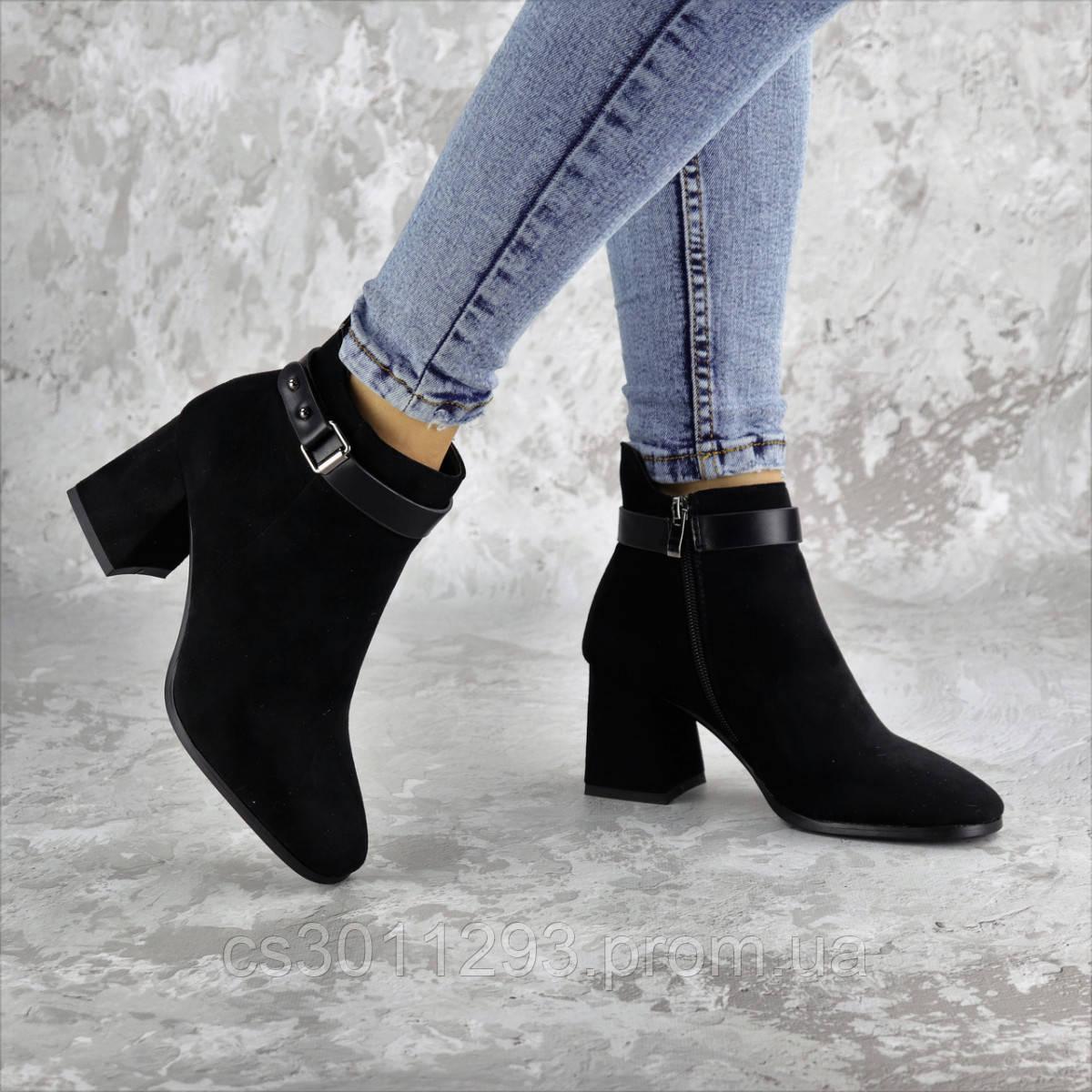 Ботильоны женские Fashion Macy 2321 36 размер 23,5 см Черный