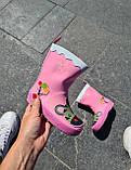 Резиновые сапоги для девочек Hemuyu (BBT) 25р, 16.5см, фото 5