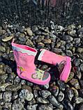 Резиновые сапоги для девочек Hemuyu (BBT) 25р, 16.5см, фото 6
