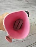 Резиновые сапоги для девочек Hemuyu (BBT) 25р, 16.5см, фото 7