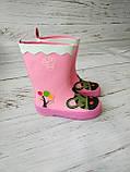 Резиновые сапоги для девочек Hemuyu (BBT) 25р, 16.5см, фото 10