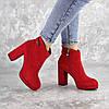 Ботильоны женские Fashion Smooches 2421 35 размер 23 см Красный, фото 2