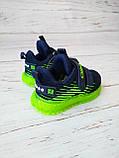 Кросівки для хлопчиків Clibee*Світяться. 21р, 13.5 см, фото 2