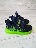 Кросівки для хлопчиків Clibee*Світяться. 21р, 13.5 см, фото 3