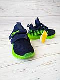 Кросівки для хлопчиків Clibee*Світяться. 21р, 13.5 см, фото 4