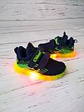 Кросівки для хлопчиків Clibee*Світяться. 21р, 13.5 см, фото 6