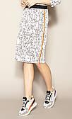 Женская юбка Pamira Zaps молочного цвета с принтом, размеры S,M