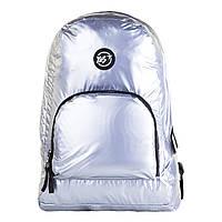 Рюкзак молодежный YES DY-15 Ultra light Серый металлик 558437, КОД: 1914637