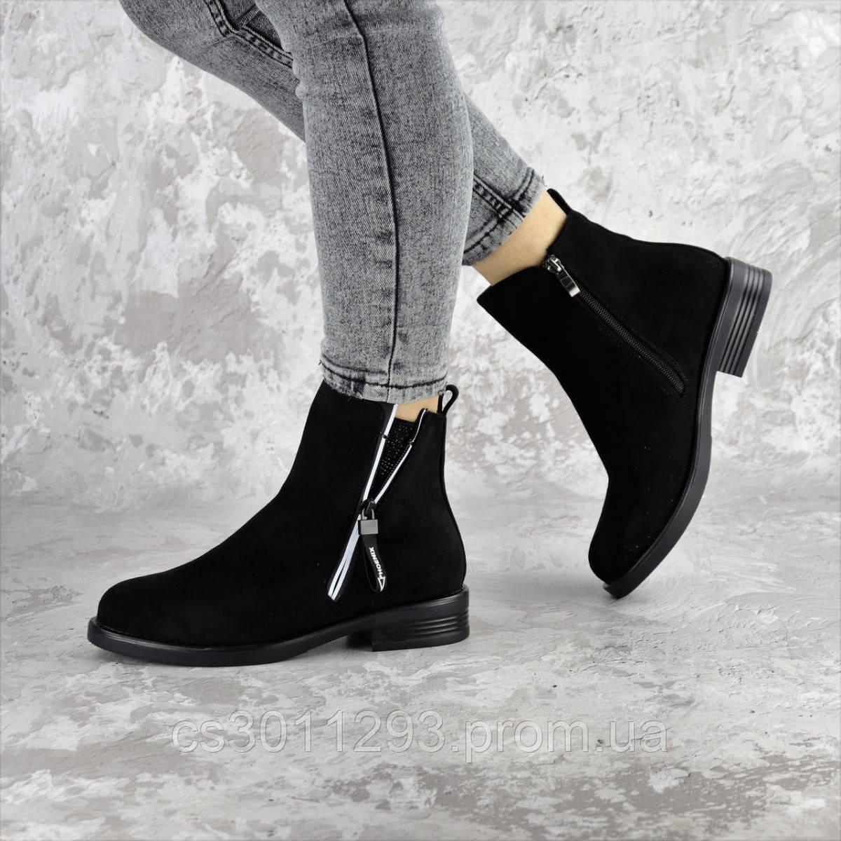 Ботинки женские Fashion Mortimer 2375 36 размер 23,5 см Черный