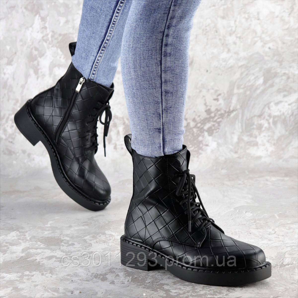 Ботинки женские Fashion Richardson 2396 36 размер 23,5 см Черный