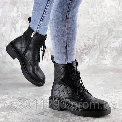 Ботинки женские Fashion Richardson 2396 36 размер 23,5 см Черный, фото 2