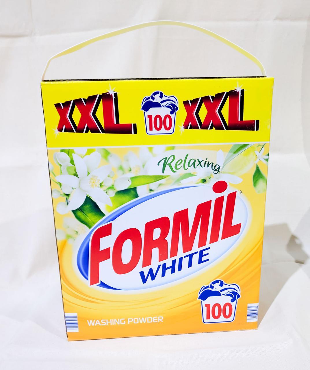 Стиральный порошок Formil Relaxing White 6,5 кг