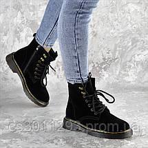 Ботинки женские Fashion Wishbone 2423 36 размер 23 см Черный, фото 2