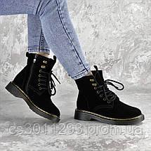 Ботинки женские Fashion Wishbone 2423 36 размер 23 см Черный, фото 3