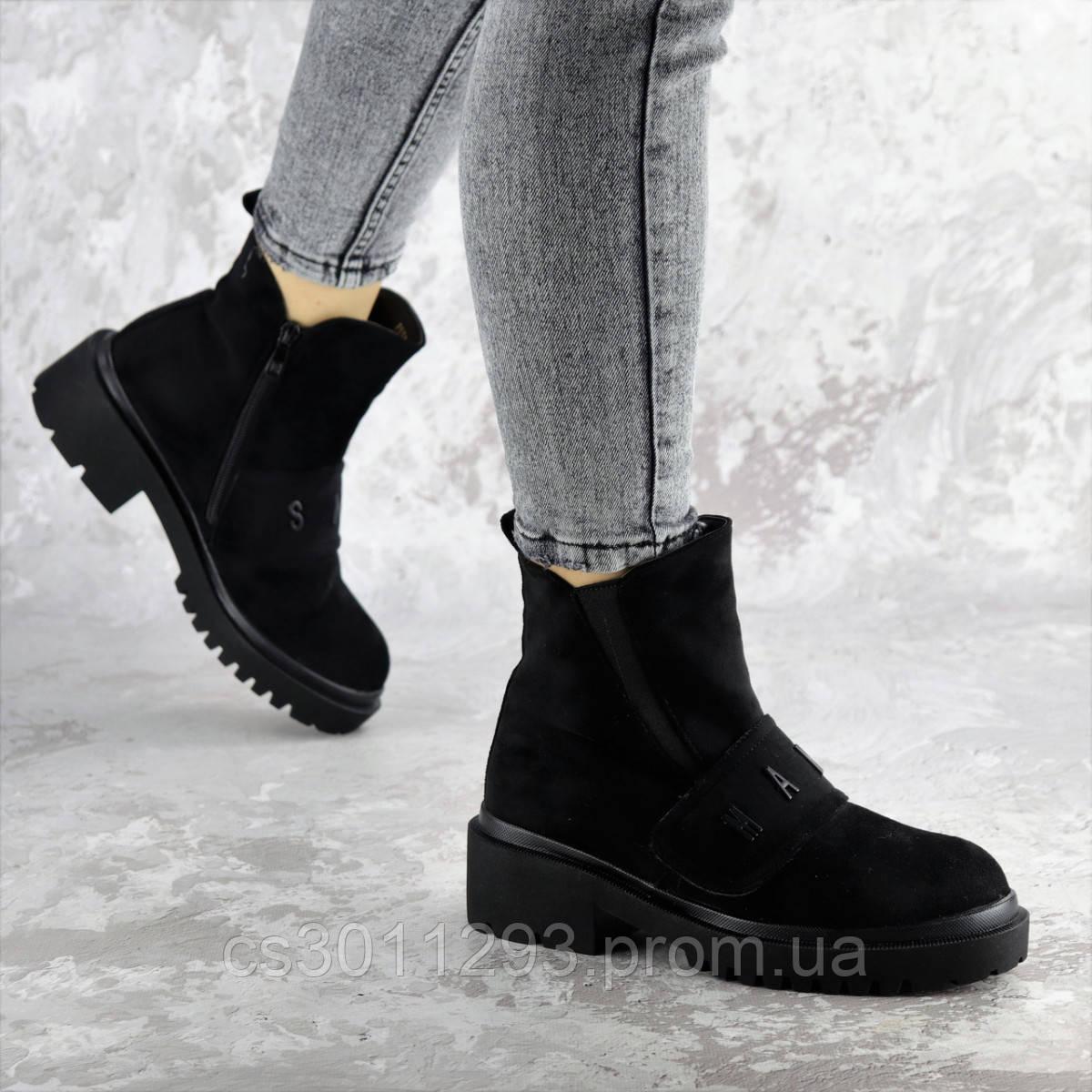 Ботинки женские зимние Fashion Atticus 2329 36 размер 23,5 см Черный