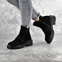 Ботинки женские зимние Fashion Atticus 2329 36 размер 23,5 см Черный, фото 2