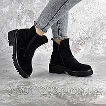 Ботинки женские зимние Fashion Atticus 2329 36 размер 23,5 см Черный, фото 3