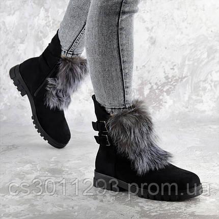 Ботинки женские зимние Fashion Beast 2334 36 размер 23,5 см Черный, фото 2