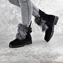 Ботинки женские зимние Fashion Beast 2334 36 размер 23,5 см Черный, фото 3