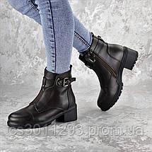 Ботинки женские зимние Fashion Finnigin 2275 40 размер 25,5 см Коричневый, фото 3