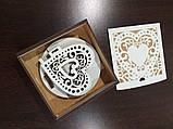 "Подставка для телефона ""Валентинка"" + подарочная коробка. Подарок на день св. Валентина, фото 5"