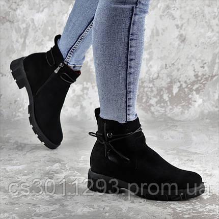 Ботинки женские зимние Fashion Kuvic 2314 36 размер 23,5 см Черный, фото 2