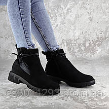 Ботинки женские зимние Fashion Kuvic 2314 36 размер 23,5 см Черный, фото 3